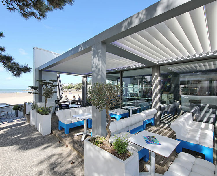 Biossun Offers You Two Ranges Of Bioclimatic Pergolas To Optimise Your Surface Area