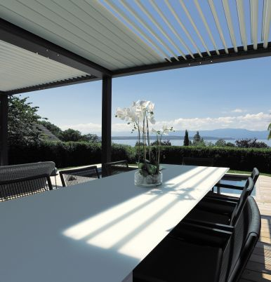 The new BIO One pergola - A perfect combination of design and innovation